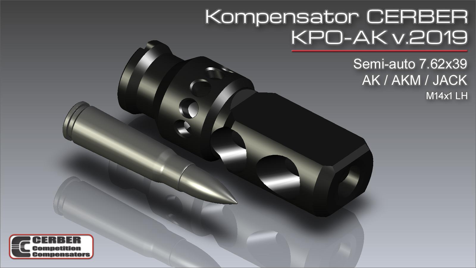 Kompensator Cerber KPO-AK v.2019